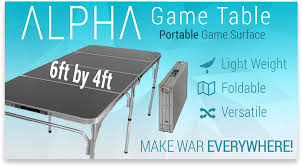 Kickstarter Gaming Desk A Portable 6x4 Table On Kickstarter Miniwargaming Wargaming Forum