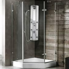 38 Neo Angle Shower Door Vigo Industries Frameless Neo Angle Shower Enclosure 38 X 38