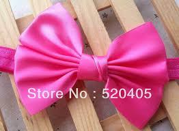 8 colors ribbon bows headwear diy satin big bows hair made