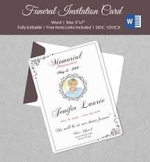 funeral invitation template free funeral invitation cards 44 funeral invitation cards templates