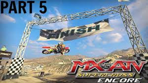 motocross atv mx vs atv supercross encore gameplay walkthrough part 5