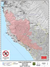 Alaska Wildfires Map by Soberanes Fire Updates 132 127 Acres 100 Contained 90 3 Kazu