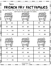 78 best teaching math fact families images on pinterest fact