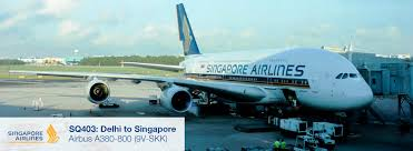 A380 Seat Map Flight Review Singapore Airlines A380 Premium Economy Del Sin