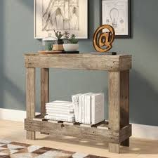 Reclaimed Wood Console Table Reclaimed Wood Console Tables Birch