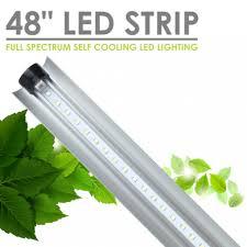 48 inch led light bulb sunblaster led strip lights 48 inch full spectrum self