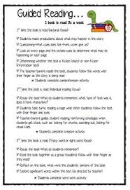 guided reading book level descriptions a handy reference