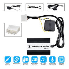 Amazon Com Car Stereo Bluetooth Aux Adapter Kit For Mazda 2 3 5 6