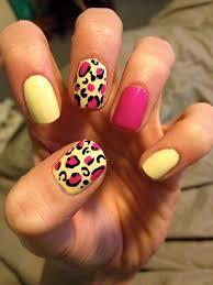cheetah nails tutorial courtney u0027s craftin u0026cookin