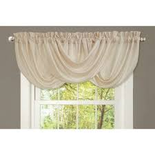 Swag Curtains With Valance Windows Scalloped Valances For Windows Decor 25 Best Ideas About