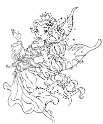 coloring tooth fairy image gallery