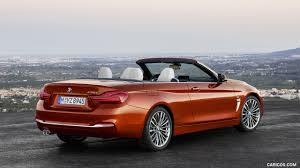 2018 bmw 4 series convertible luxury line rear three quarter
