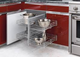 Kitchen Cabinet Pull Out Storage Blind Corner Cabinet Pull Out Shelves Outofhome