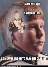 Just Stop Meme - ptsd clarinet boy don t stop believin
