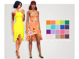 nite dress recolor of hawaiianroll s day 2 nite dress mesh included the