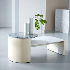 Pedestal Coffee Table Round West Elm Marble Side Table U2013 Thelt Co
