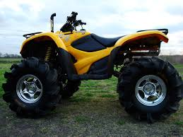 2014 honda rincon with 30 inch gorilla tires with a 2 inch lift a