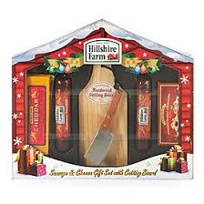 view hillshire farms sausage cheese gift set with cutting board