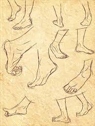 anatomy 12 feet sketches by saucymuse on deviantart