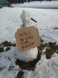 Snowman Meme - i made a snowman after our last good snow its been a while and since