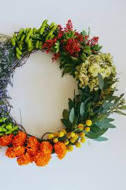 flower grapevine wreath u2013 a beautiful mess
