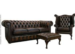 Chesterfield Sofa Antique The Crompton Vintage Brown Leather Chesterfield Sofa Manchester