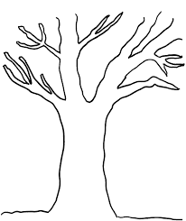 bare tree template printable free download