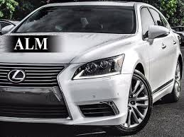 2015 Used Lexus Ls 460 Base At Alm Gwinnett Serving Duluth Ga