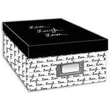 Recollections Photo Album Amazon Com Recollections Memory Storage Box 4 3 8