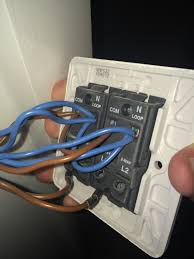 wiring before i changed the socket