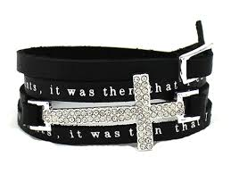 buckle leather wrap bracelet images Christian bracelets page 11 the quiet witness jpg