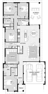 baby nursery single story house plans for narrow lots best
