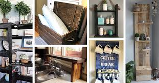 kitchen cabinets made out of pallet wood 24 best pallet storage ideas to organize your home with