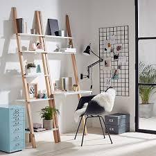 Indie Desk The 25 Best Ladder Desk Ideas On Pinterest Ladder Shelf Desk