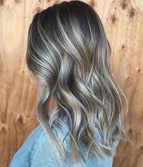 ash brown hair with pale blonde highlights 40 ash blonde hair looks you ll swoon over ash blonde balayage