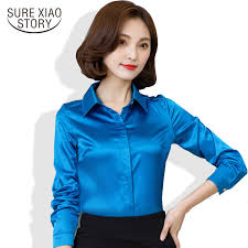 plus size silk blouse 2017 arrival sale sleeve silk blouse