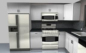 backsplashes two burner stoves brown cabinet kitchen l shaped