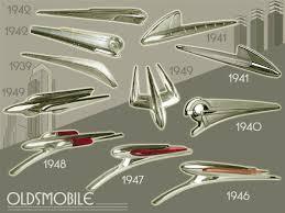 oldsmobile ornaments