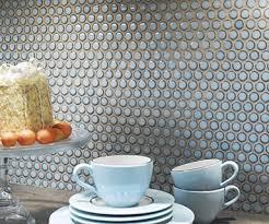Penny Tile Kitchen Backsplash by Best 20 Blue Penny Tile Ideas On Pinterest Subway Tile Showers