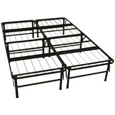 durabed full foundation u0026 frame in one mattress support bed frame