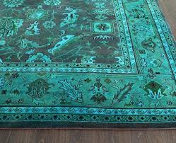Peacock Blue Area Rug Peacock Colored Area Rugs Green Rug Amazing Under Color