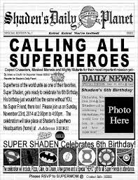 daily planet newspaper template free ghost study