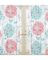 Coral And Turquoise Curtains Boom Sales On Turquoise Curtains