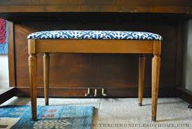 tutorial how to reupholster a bench with rounded corners the