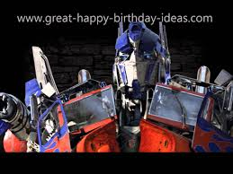 transformer birthday optimus prime birthday speech