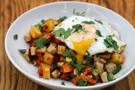 thanksgiving leftovers morning after turkey breakfast hash with