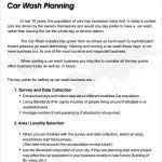 mobile car wash business plan u2022 az photos