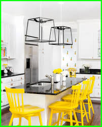yellow and kitchen ideas awesome blue and yellow kitchen ideas trendy island stool pics for