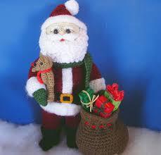 woodland santa pdf crochet pattern crochet happy hooker