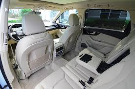 how many seater is audi q7 2017 audi q7 prestige review test drive